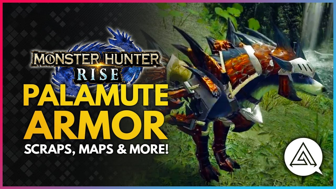 arekkz gaming - Monster Hunter Rise | New Palamute Armor Showcase, Scraps & New Maps Still to Come!
