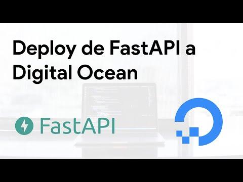 Cómo subir una app con FastAPI a DigitalOcean