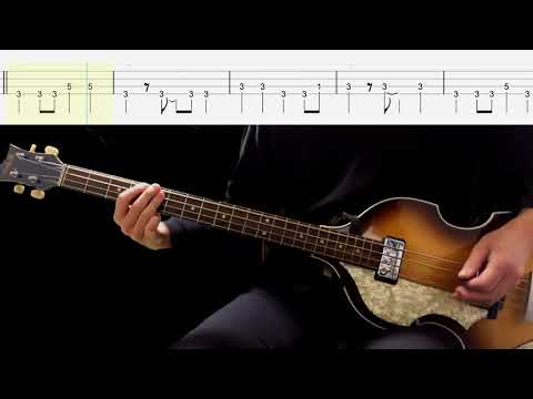 Bass TAB : I'm Gonna Sit Right Down And Cry (Over you) - The Beatles