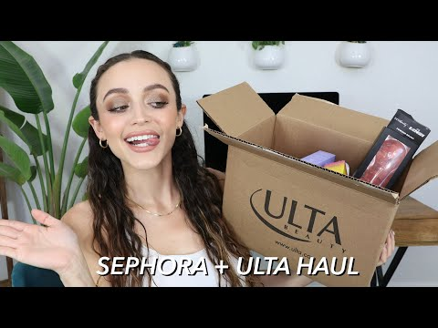 TESTING NEW MAKEUP + GRWM!! Ulta and Sephora