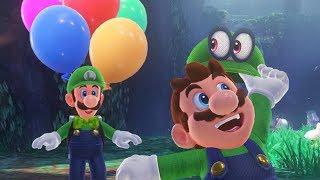 Luigi's Balloon World width=