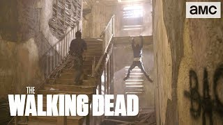 'Rick & Negan's Epic Fight' Behind the Scenes Ep. 812 | The Walking Dead