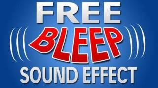 "FREE ""Censor Beep"" Sound Effect"