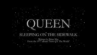 Queen - Sleeping On the Sidewalk (Official Lyric Video)