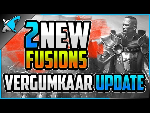 2 *NEW* UPCOMING FUSIONS... No More Old Champs!? | Vergumkaar Update | RAID: Shadow Legends