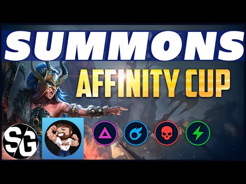 RAID SHADOW LEGENDS | SUMMONS FOR AFFINITY CUP W/ KIZZLE! THE STIZZLE SHOW IS BACK