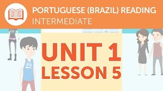 Intermediate Portuguese Reading - A Promotional Portuguese Leaflet