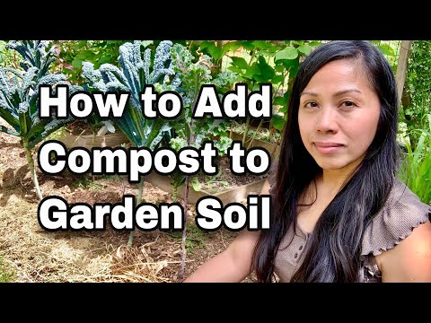 How to Add Compost to Garden Soil
