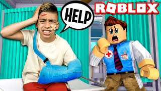 Ferran Ends up in The HOSPITAL in Roblox Brookhaven!! | Royalty Gaming