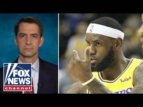 Tom Cotton slams LeBron James' tweet as 'revolting' incitement to violence