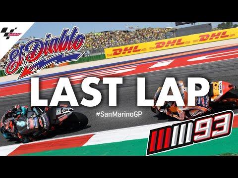 The last lap of a sensational 2019 #SanMarinoGP!
