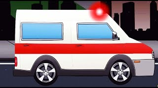 CarToon Movies Full Movie 2016 Ambulance Police Car - Monster Truck For Kids