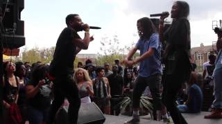 """(A$AP Ant) live at (Nice Kicks) performing """"Set Dat Bitch Off"""" featuring (Chynna) SXSW 2015"""