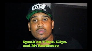"Goodz  "" Speaks on T-Rex , Clips, and Mt.Rushmore """