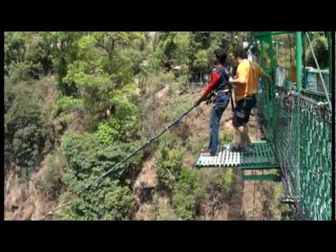 Nikhil's Canyon Swing @ The Last Resort, Nepal