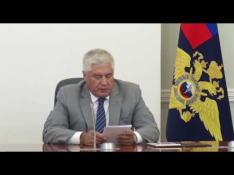 Глава МВД РФ В. Колокольцев