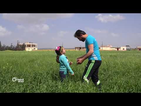 نور ستوت طفلة مقيمة في ريف تسعى لتمثيل سورية في المحافل الرياضية العالمية