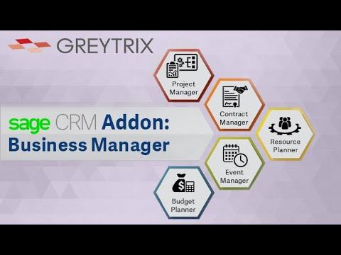 Greytrix Sage CRM Business Manager