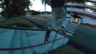 Edward Artuz paga por jugar - Skateboarding Panama