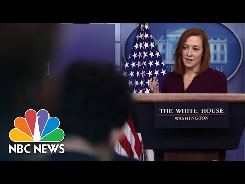 White House Holds Press Briefing: April 19   NBC News