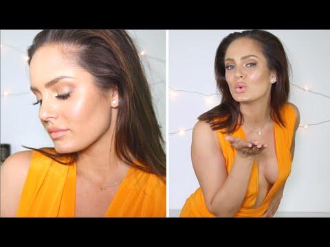 Gigi Hadid's Golden & Glowing VMA's Look! Complete Tutorial!
