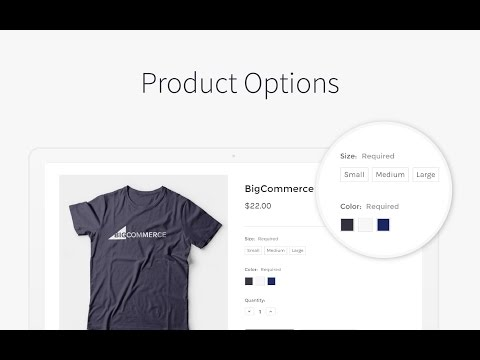 Product Options  | BigCommerce Tutorials