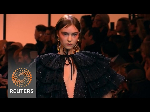Armani shows new haute couture collection in Paris