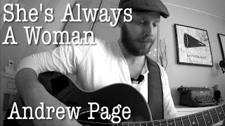 She's Always A Woman ~ Billy Joel, Cover (Acoustic Guitar!)