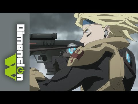 Dimension W - Official Clip - Kyoma Storms the Beach