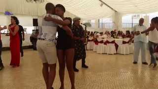Liliana & Acácio dancing to the live act of Nanuto at Farra de Quintal Lisboa