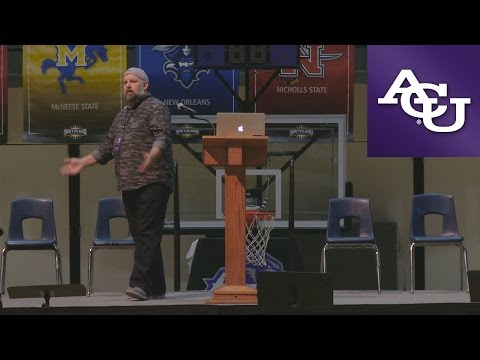 ACU Chapel with Randy Brewer; November 14, 2016
