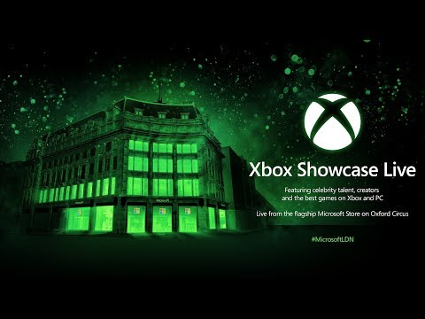 Xbox Showcase Live from the flagship Microsoft Store London, with Taron Egerton, John Boyega + more!