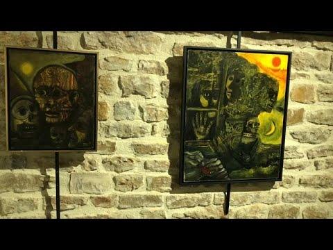 """""""Evaristo, a vonalon túl: lelkek tükörképe"""" –  Evaristo Estivill kiállítása"""