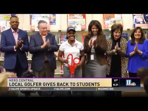 Hero Central by Montlick & Associates - Local Golfer Gives Back to Students