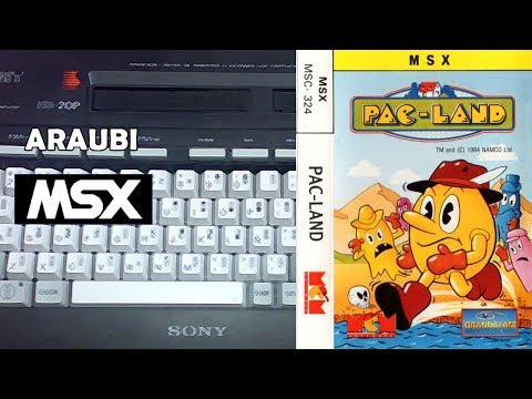 Pac-Land (Grandslam, 1988) MSX [447] Walkthrough