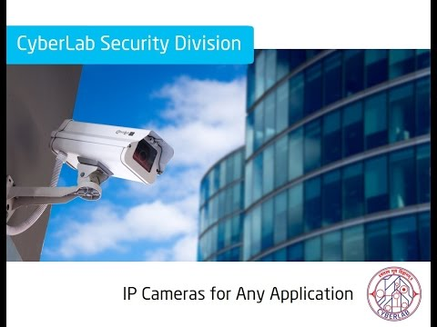 Cyberlab IP CCTV video surveillance and security camera system