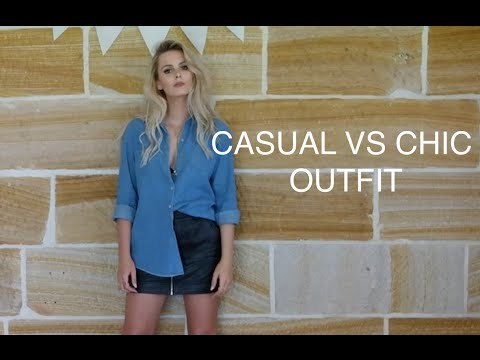 STYLE SESSION | CASUAL VS CHIC | RACHAEL BROOK