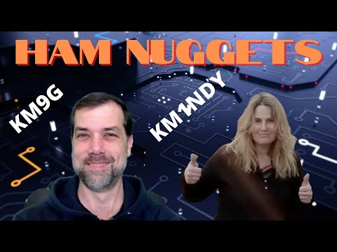 Ham Nuggets Live w/Mindy Hull, KM1NDY