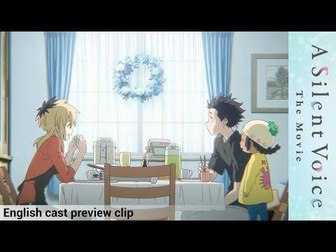 A Silent Voice (English cast preview) - Official Clip #1