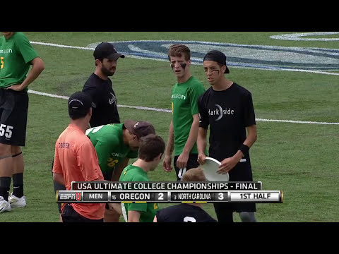 Video Thumbnail: 2015 College Championships, Men's Final: North Carolina vs. Oregon