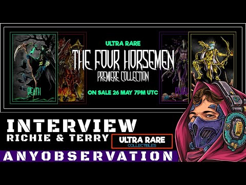 The Four Horsemen | Ultrarare NFT Release on WAX | Interview with team
