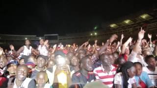 Eddy Kenzo LIVE at Namboole uganda france Friendship week.