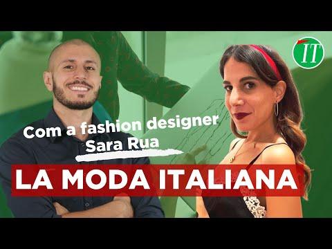 LA MODA ITALIANA COM SARA RUA !