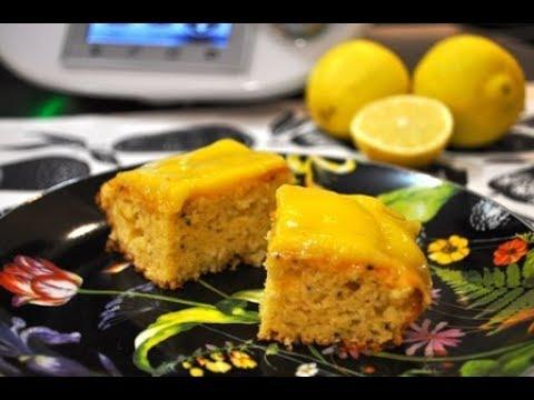 Bizcocho de kiwi y lemon curd (crema de limón) con Thermomix ®