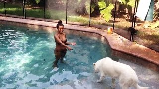 Brandi & Cody Rhodes spend the day at the dog park - Video Blog: May 14, 2014
