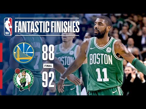 Warriors vs Celtics - Best Plays From The Thrilling 4th Quarter in Boston | November 16, 2017