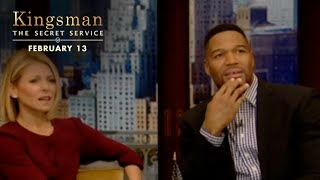 Kingsman: The Secret Service | Live! With Kelly and Michael  [HD] | 20th Century FOX