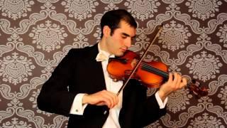 Xavier Inchausti interpreta el Capricho Nº 5 de Paganini
