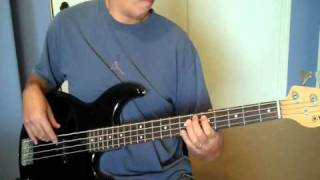 """""""Let's Go""""  (The Cars)  Bass Cover"""