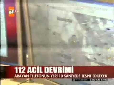 ATV Prof  Dr  Ali İhsan Dokucu 112 Komuta Kontrol Merkezi Açılış